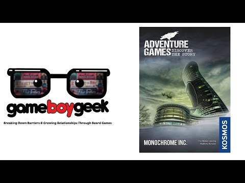 Adventure Games: Monochrome Inc Review with the Game Boy