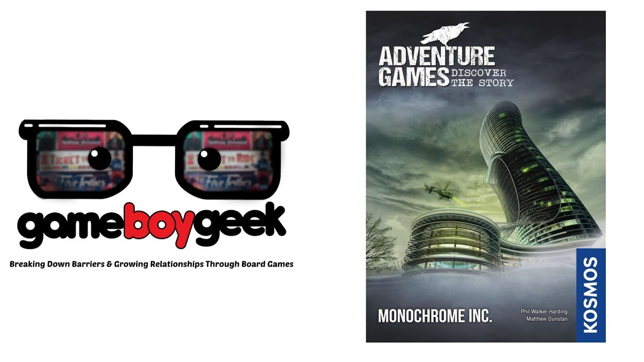 Adventure Games: Monochrome Inc Review with the Game Boy Geek