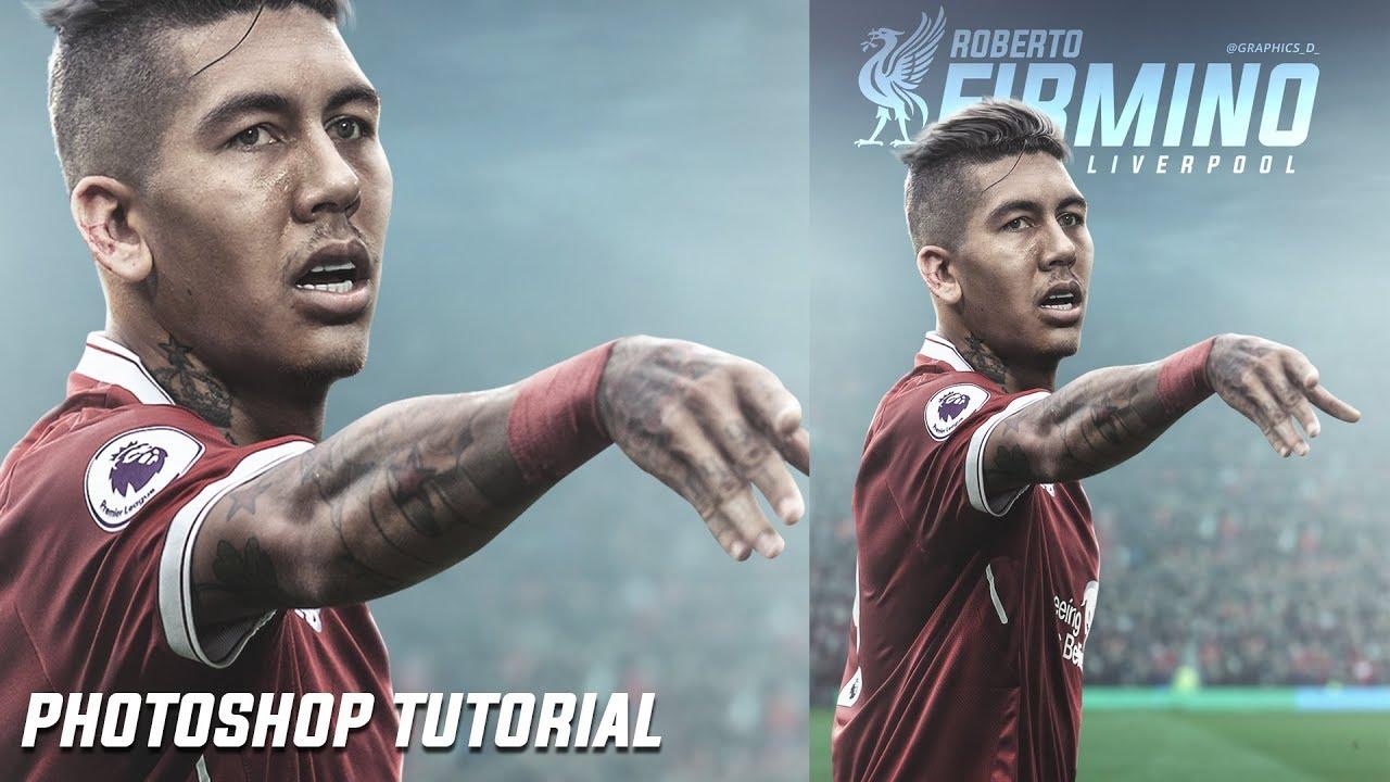 Photoshop Tutorial-Football Poster Design Tutorial