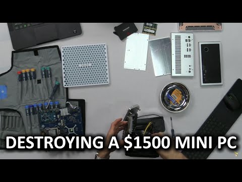 Tiny Liquid Cooled PC Un-build Log!