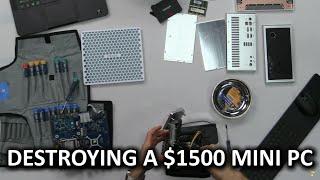 Tiny Liquid Cooled PC Un-build Log!