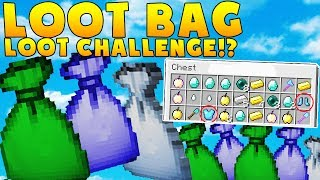 MINECRAFT MODDED LOOT BAG LOOT CHALLENGE w/ BAJANCANADIAN - BATTLE MODDED MINIGAME