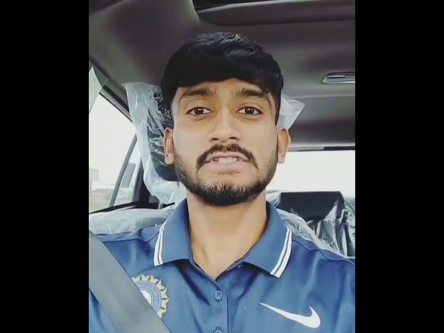 Khaleel ahmed reply for fan .. Khaleel ahmed  from tonk rajasthan india