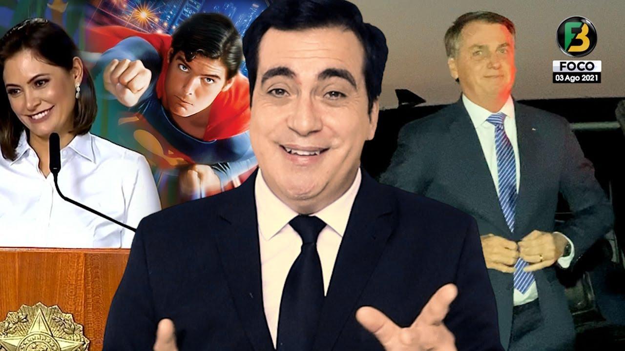 Bolsonaro na Globo, Superman na CPI, Michelle Bolsonaro se pronuncia, Novos Ministros e mais
