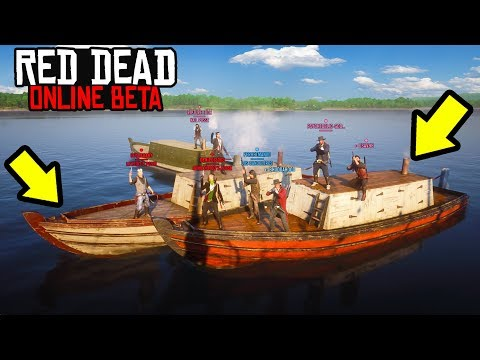 NEW PIRATES MINIGAME in Red Dead Online! RDR2 Online Funny Moments! thumbnail