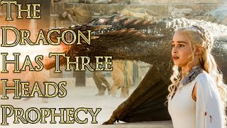 The Dragon has Three Heads Theory ( The Dragon has Three Heads Prophecy, Dragon has Three Heads )