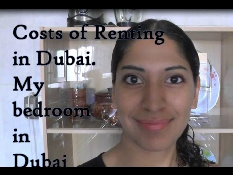Costs of renting in Dubai, My bedroom in Dubai