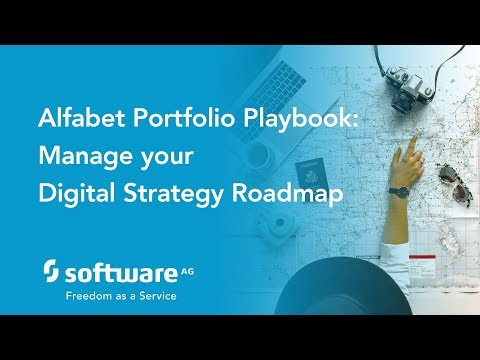 Alfabet Portfolio Playbook: Managing your Digital Strategy Roadmap