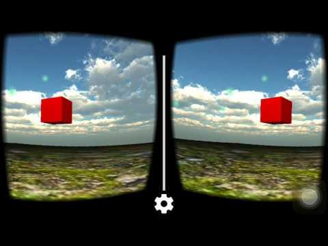 CardBoard VR Game (VR Art Project 1)