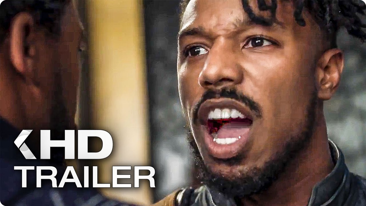 BLACK PANTHER International Trailer (2018)
