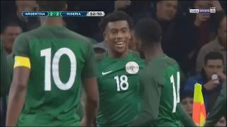 Argentina vs Nigeria 2-4   All Goals & Highlights English Commentary  11-15-2017 HD