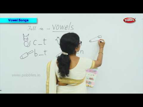 Fill in the blank   vowel songs for preschoolers   vowel songs for children   Phonics of Kids