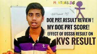 DOE Result and KVS Result Update PRT & TGT by Mentors 36