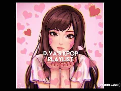 Overwatch D.VA Playlist - KPOP Edition