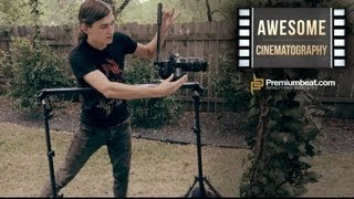 Cinematography Tutorial: Dramatic Camera Slider Moves