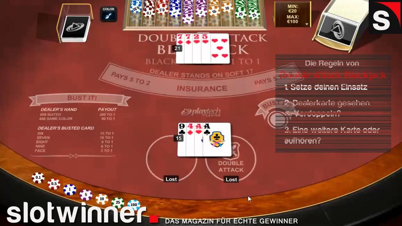 blackjack regeln double