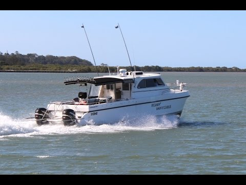 Leisurecat Deepwater Fishing Powercat SOLD at Peter Hansen Yacht Brokers Raby Bay