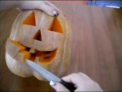 Come Fare Zucca Di Halloween Video.Come Intagliare La Zucca Di Halloween