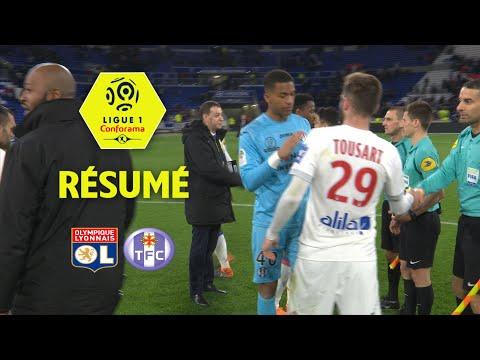 Olympique Lyonnais - Toulouse FC ( 2-0 ) - Résumé - (OL - TFC) / 2017-18