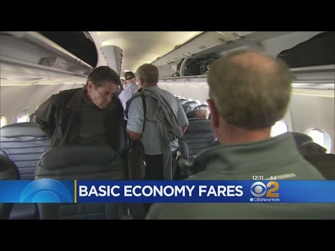 'Basic Economy' Seats Take Flight