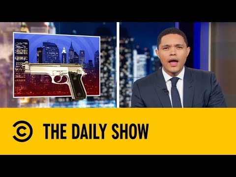 New York's About To Get A Bit More Dangerous | The Daily Show with Trevor Noah