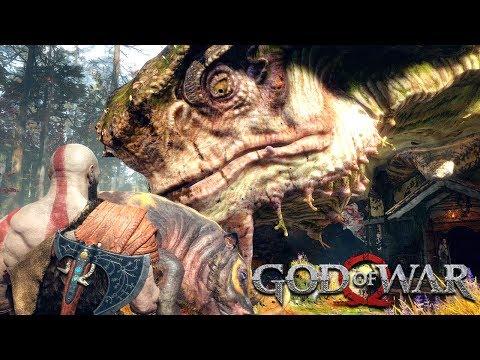 GOD OF WAR - #3: UM COLOSSO! (Gameplay em 4K do PS4 Pro)