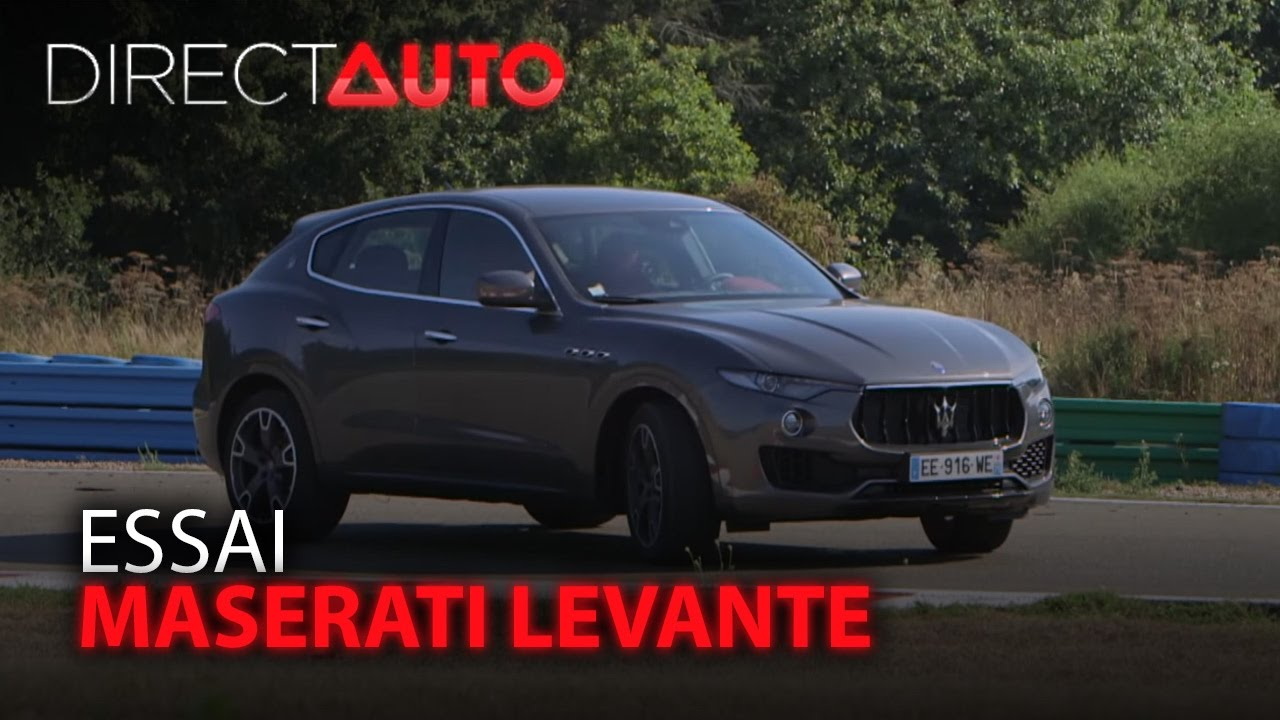 essai maserati levante youtube. Black Bedroom Furniture Sets. Home Design Ideas