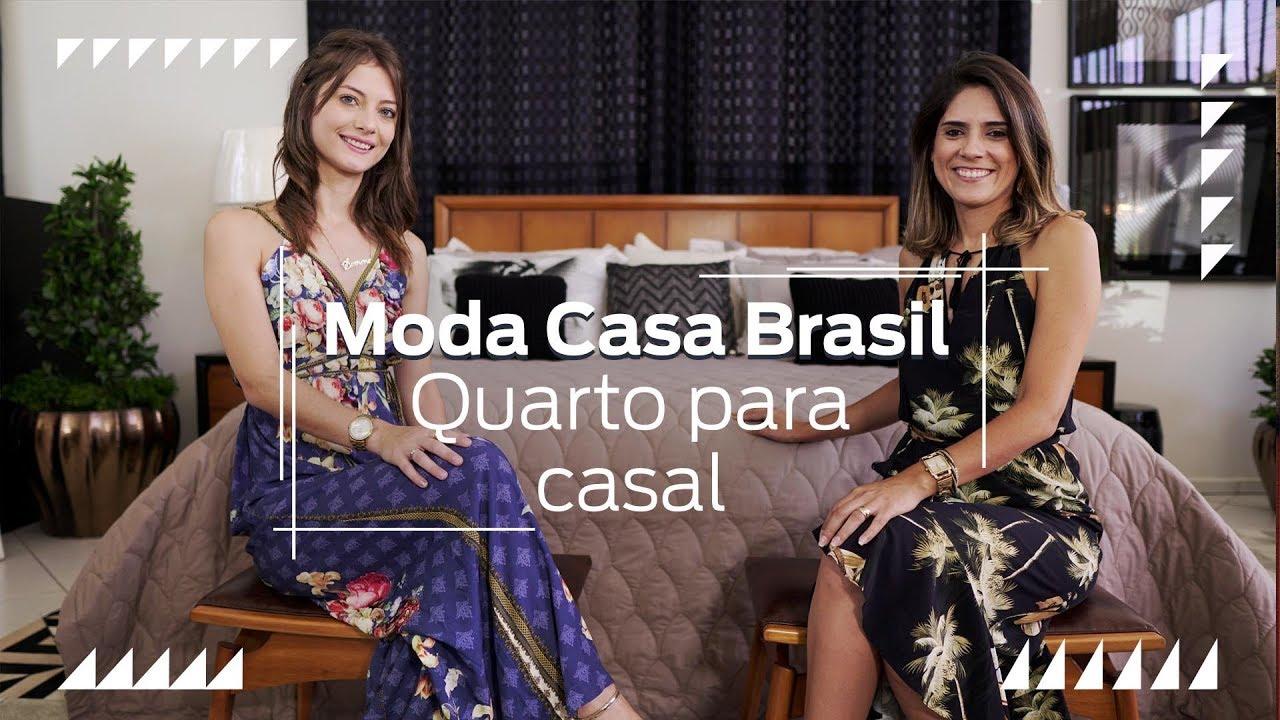Decorando o Quarto do Casal | Moda Casa Brasil