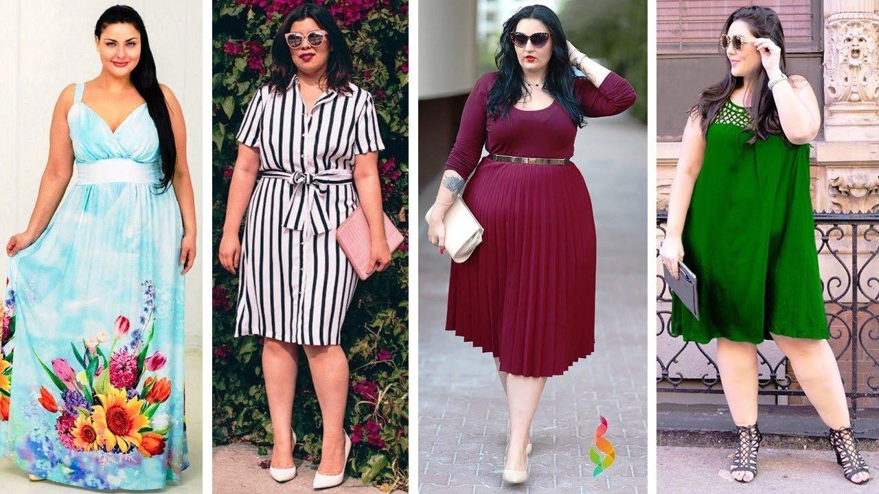 Мода для полных лето 2019 фото Как одеваться полным женщинам PLUS SIZE