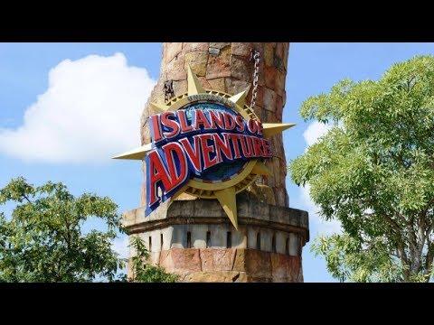 Universal Orlando Islands Of Adventure Full Walkthrough With Rides 2017