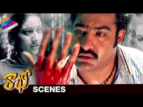 NTR shocks about his Sister's Demise | Rakhee Telugu Movie Scenes  | Ileana | DSP | Telugu Filmnagar