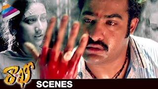 NTR shocks about his Sister's Demise | Rakhee Telugu Movie Scenes  | Ileana | DSP | Telugu Filmnagar