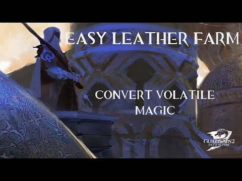 Guild Wars 2 - Easy Leather Farm
