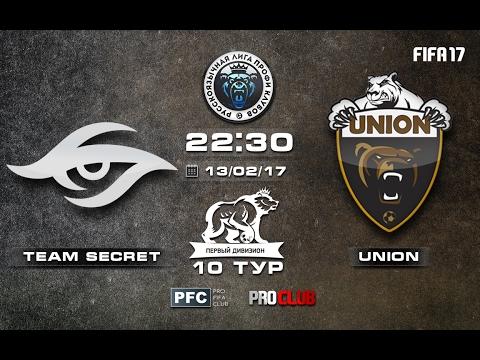 Team Secret - UNION   Pro Clubs   RLPC   10 Matchday/14 Season