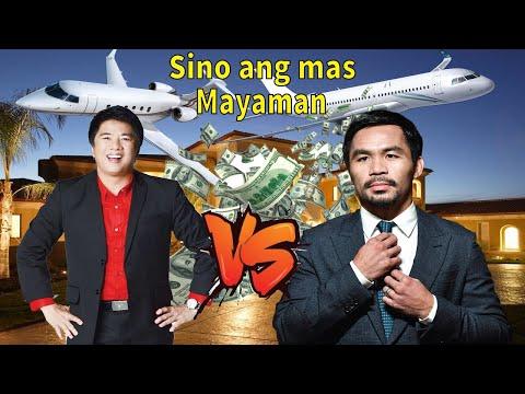 Sino Ang Mas Mayaman Manny Pacquiao Vs Willie Revillame  Pac Man Vs Kuya Wil Sino Ang Mas Mayaman