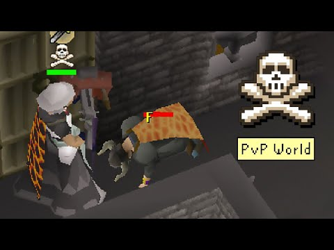 He forgot he was in a PvP World