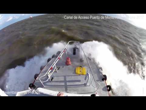 Lancha de Prácticos  - Desembarque de Práctico (Pilot Boat) -  Ocean Dream