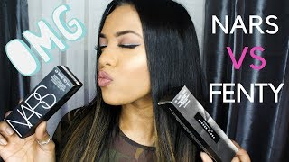 PICKING THE PERFECT FOUNDATION | NARS VS FENTY