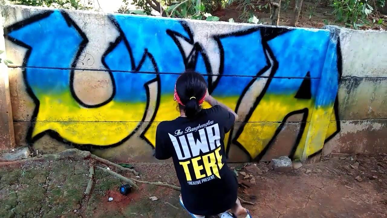 Graffiti indonesia uwa