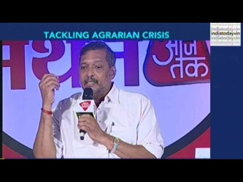 Nana Patekar On Farmers' Suicides And Maharashtra's Agrarian Crisis