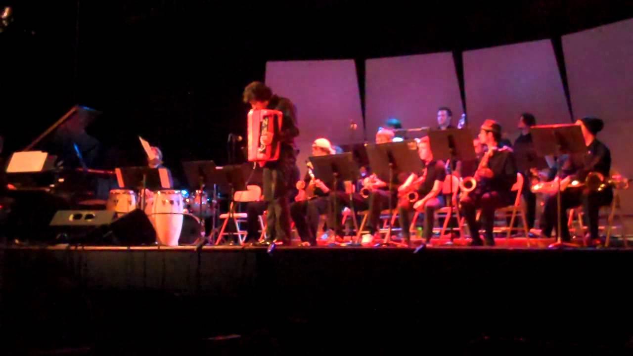 Cory Pesaturo with UNCA Big Band