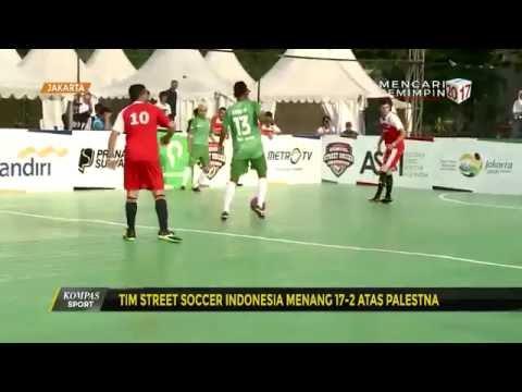 Tim Street Soccer Indonesia Menang atas Palestina
