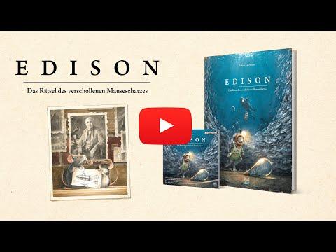 Edison YouTube Hörbuch Trailer auf Deutsch