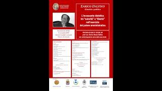 Giornata di studi in ricordo del Prof. Avv. Enrico Nicola Dalfino nel venticinquesimo anno dalla sua morte  - 8 novembre 2019, Sammichele di Bari