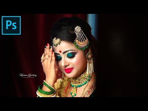 Fastest Way To Bridal Photo Editing In Adobe Photoshop - Skin Finer 2.0