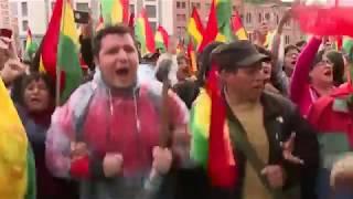 Боливия погрузилась в хаос и безвластие / Тревожные Новости 1 канал