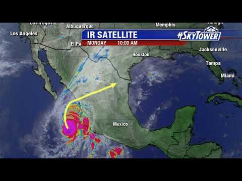 Hurricane Willa update & tropical weather forecast: October 22, 2018