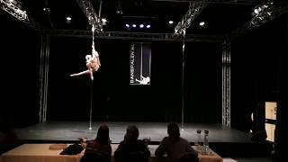 1st runner up Pole passion Competition 2019
