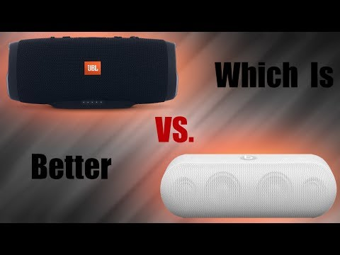 Beats Pill+ vs JBL Charge 3