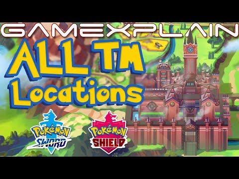 All TM Locations in Pokémon Sword & Shield (Guide & Walkthrough)
